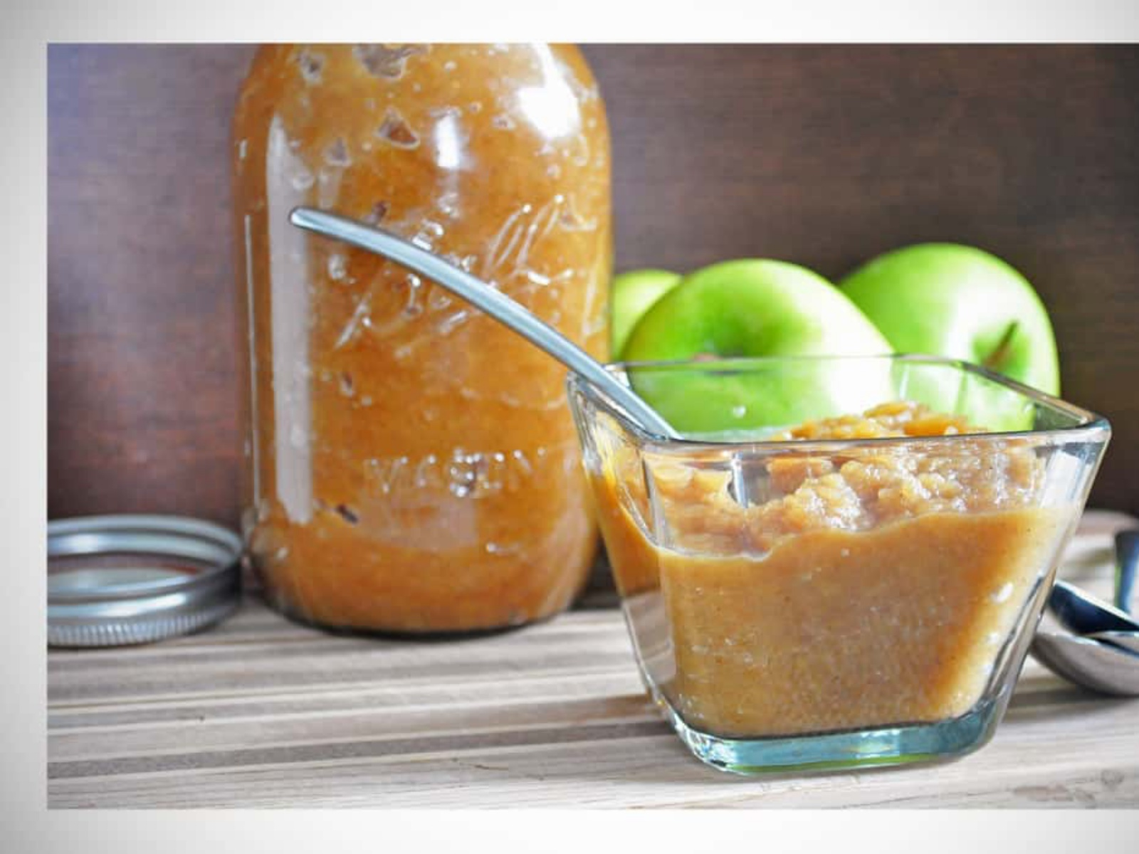vegan sugar-free applesauce