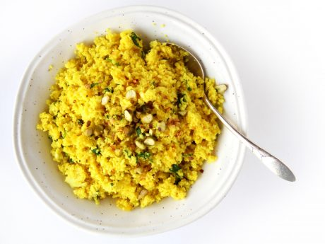 Easy cauliflower rice recipe