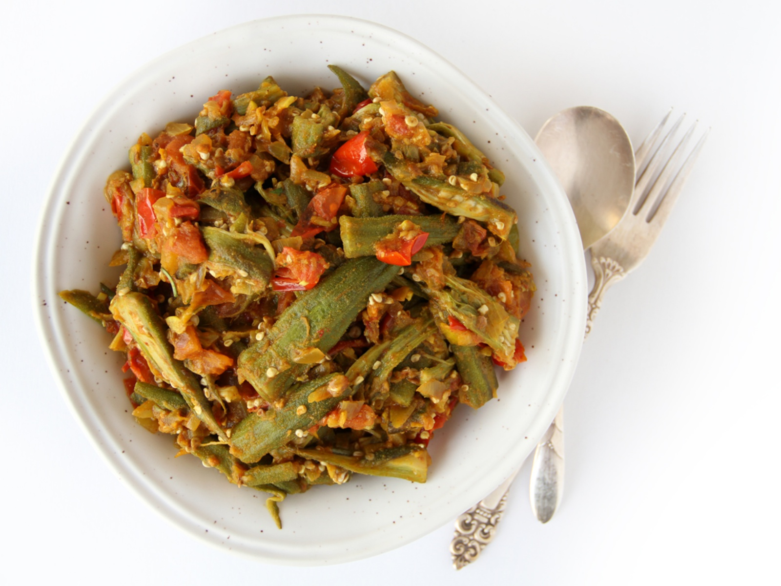 Curried Okra Vegan One Green Planet