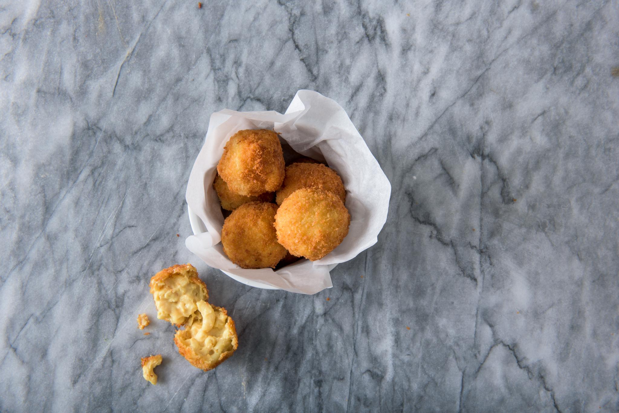 Vegan Mac Uncheese Balls