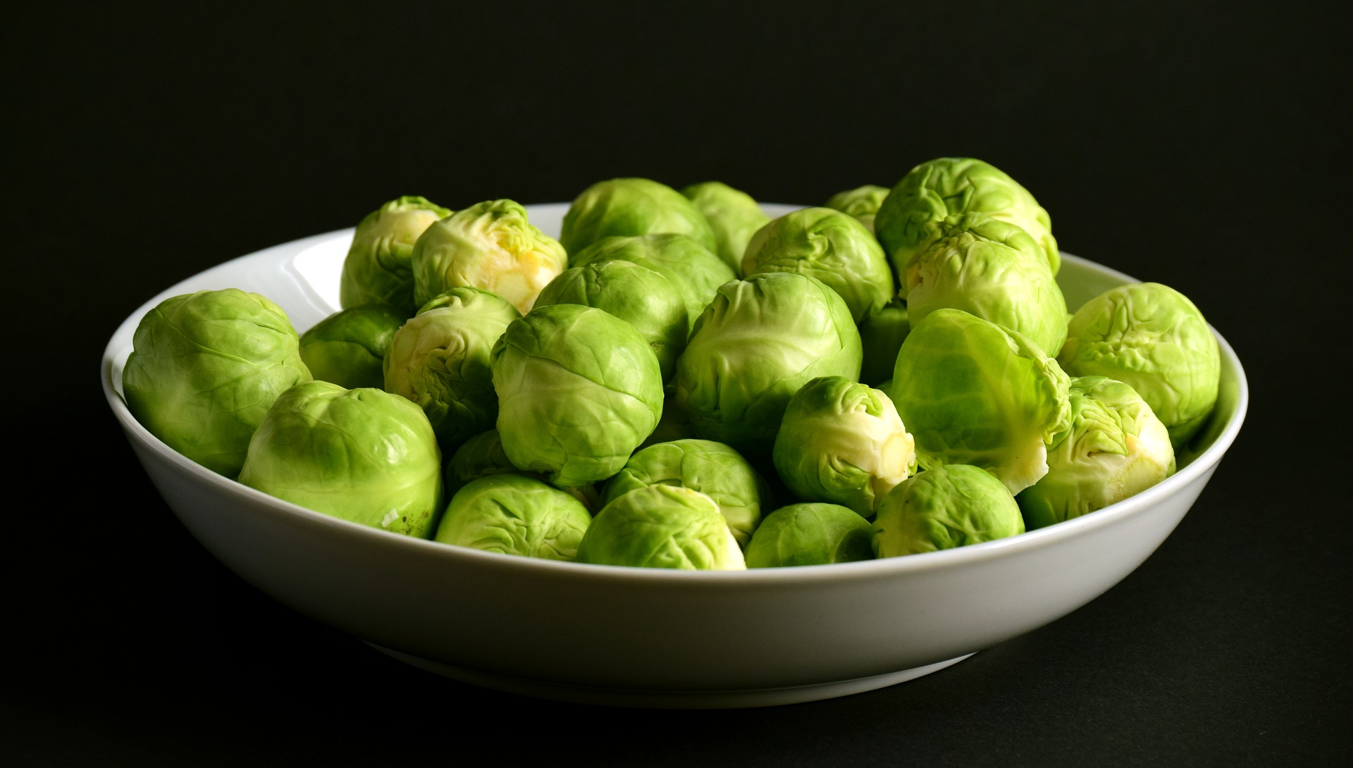 Brussels Sprouts, which are good for blood pressure