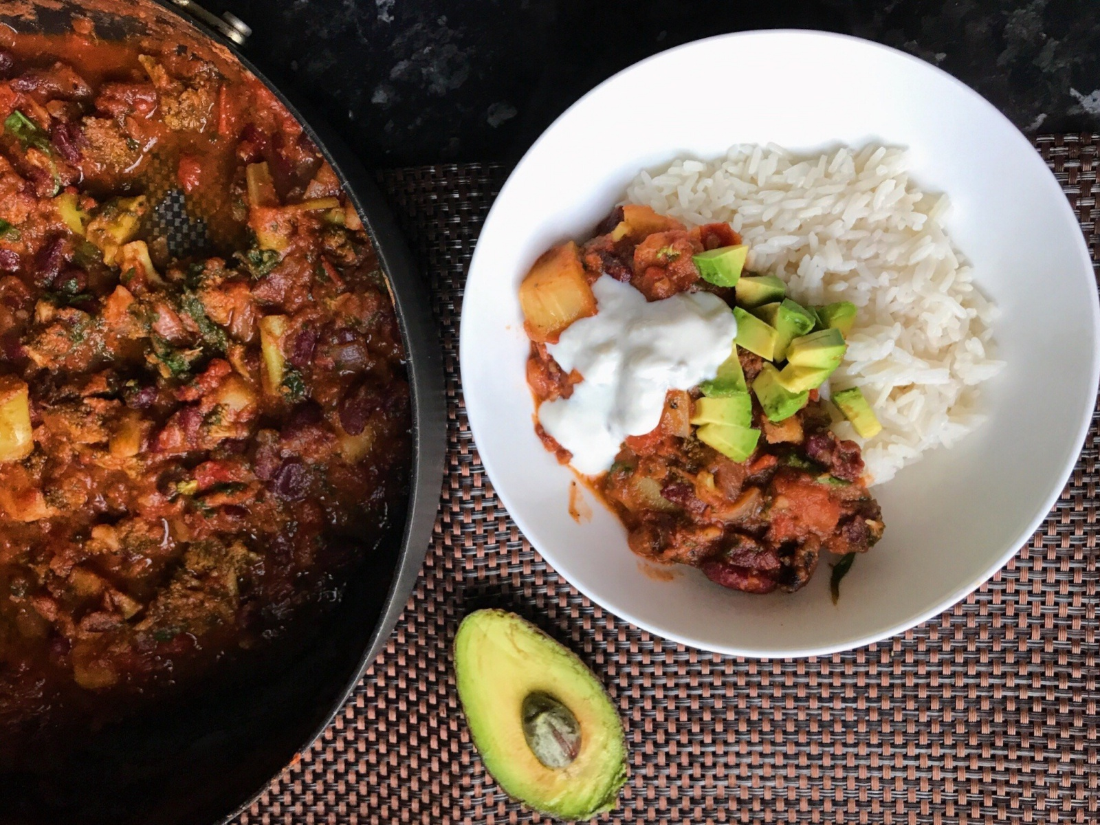 Vegan Mexican Bean Stew