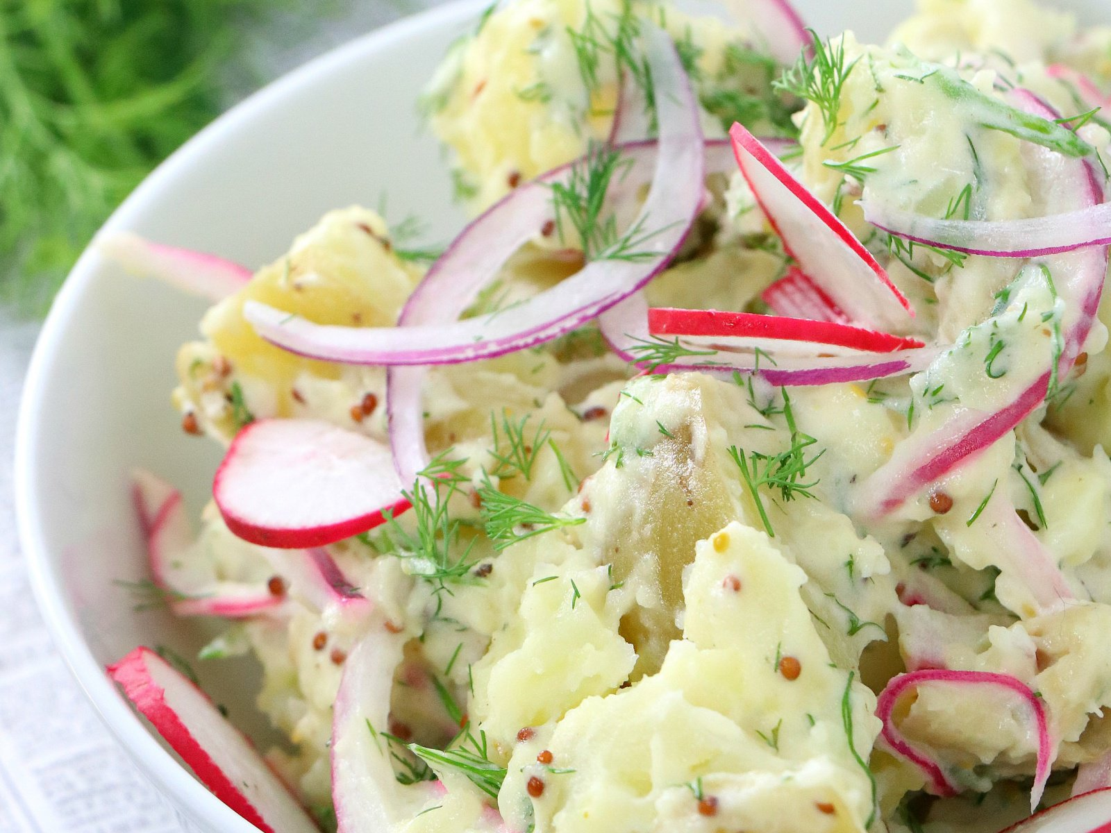 Creamy Dill Potato Salad