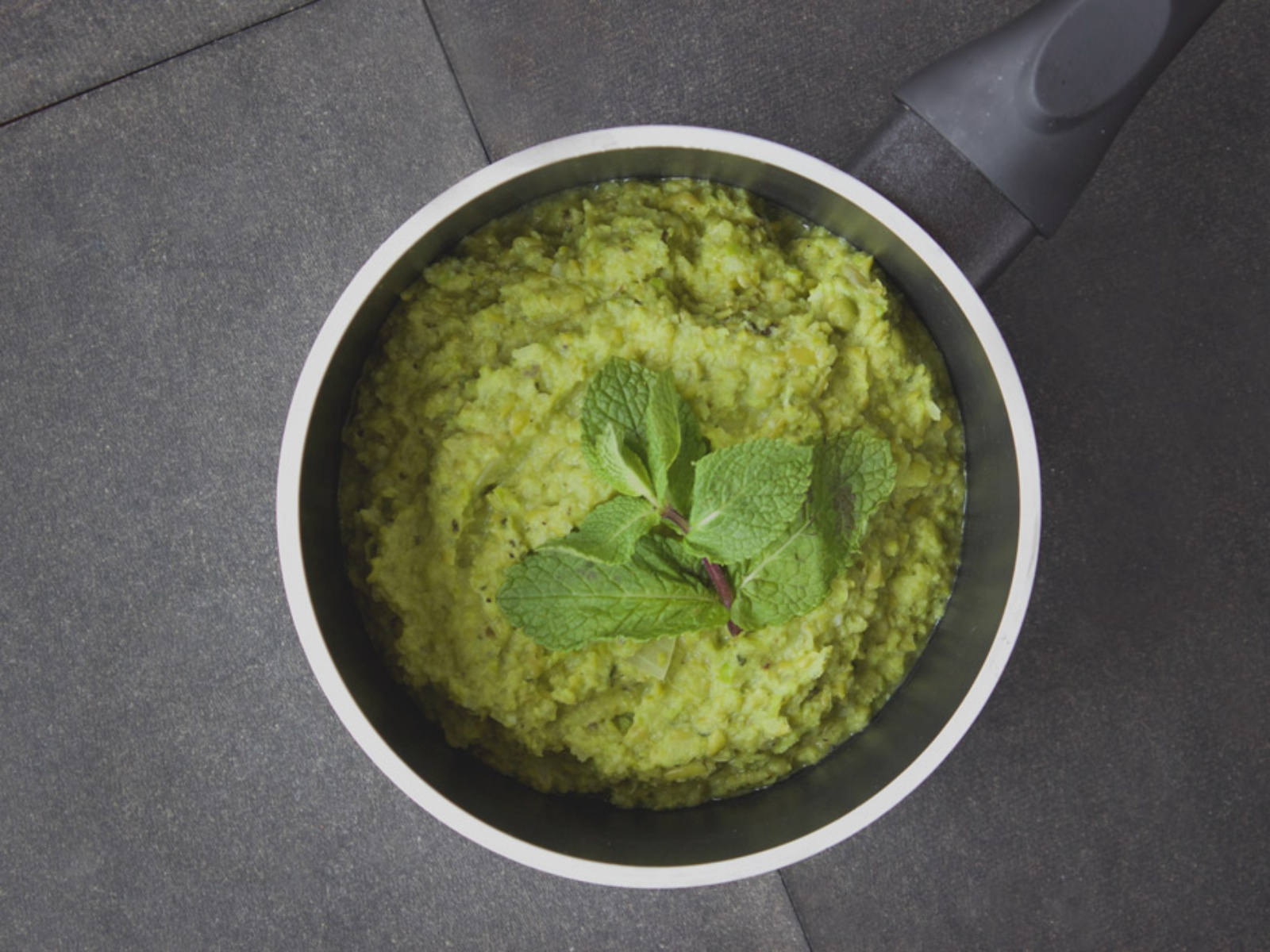 Minty Mashed Peas