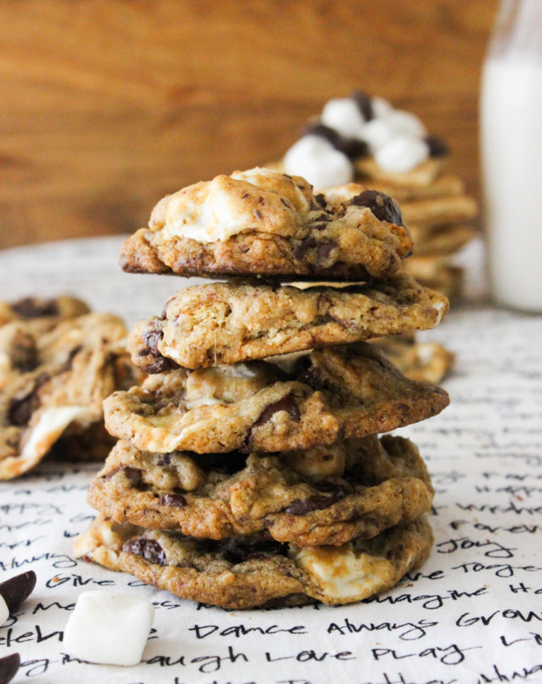 S'mores Cookies [Vegan]