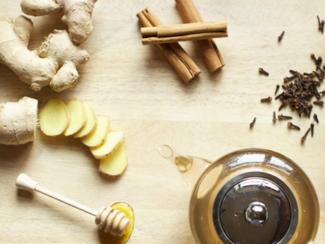 Vegan Healing ginger tea