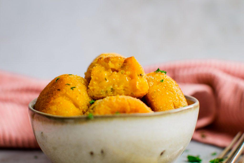 Vegan Chipotle Potato Balls