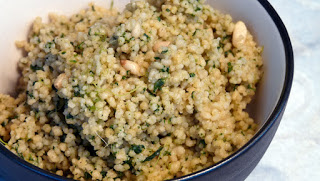 Vegan Healthy Green Couscous
