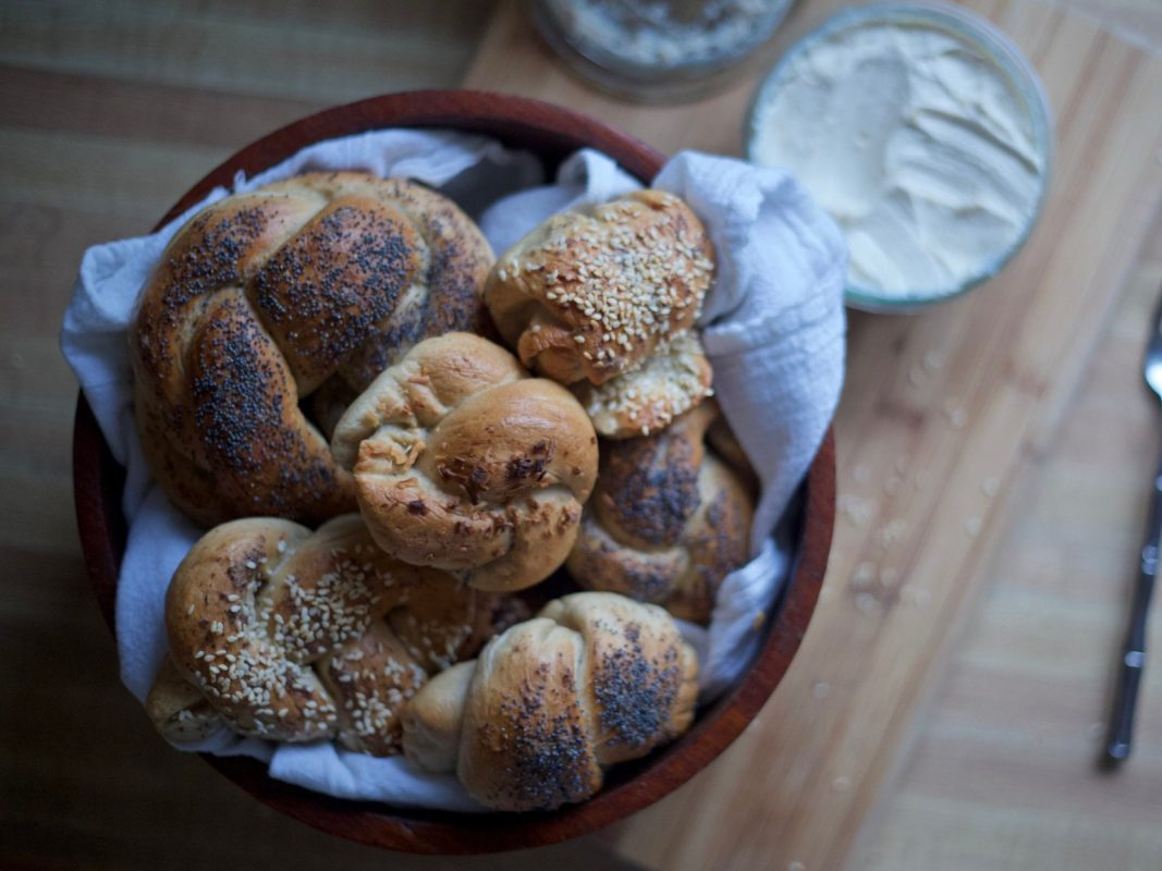 vegan homemade bagel recipes