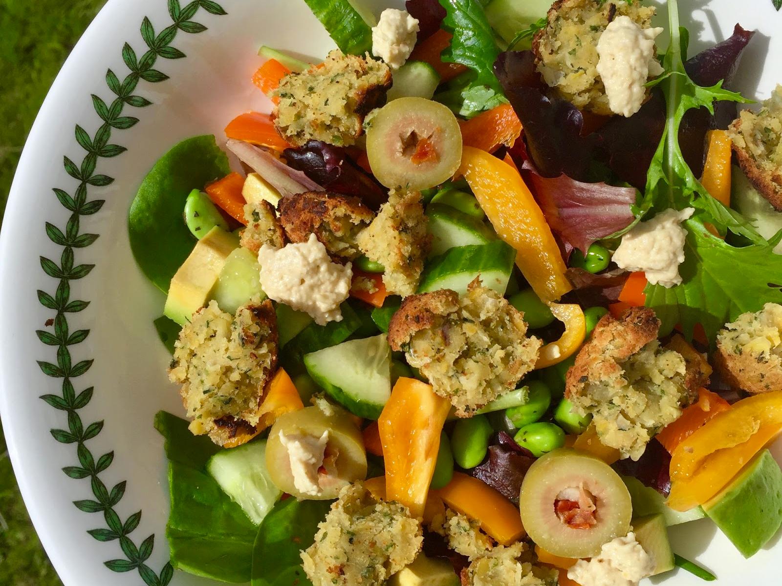 Vegan Wholesome Salad