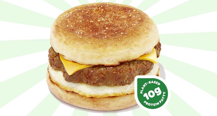Dunkin' Beyond Meat breakfast sandwich