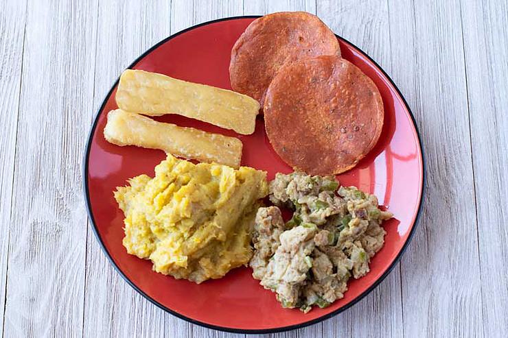 Vegan A Traditional Dominican Breakfast