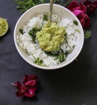 Cilantro Lime Rice [Vegan]