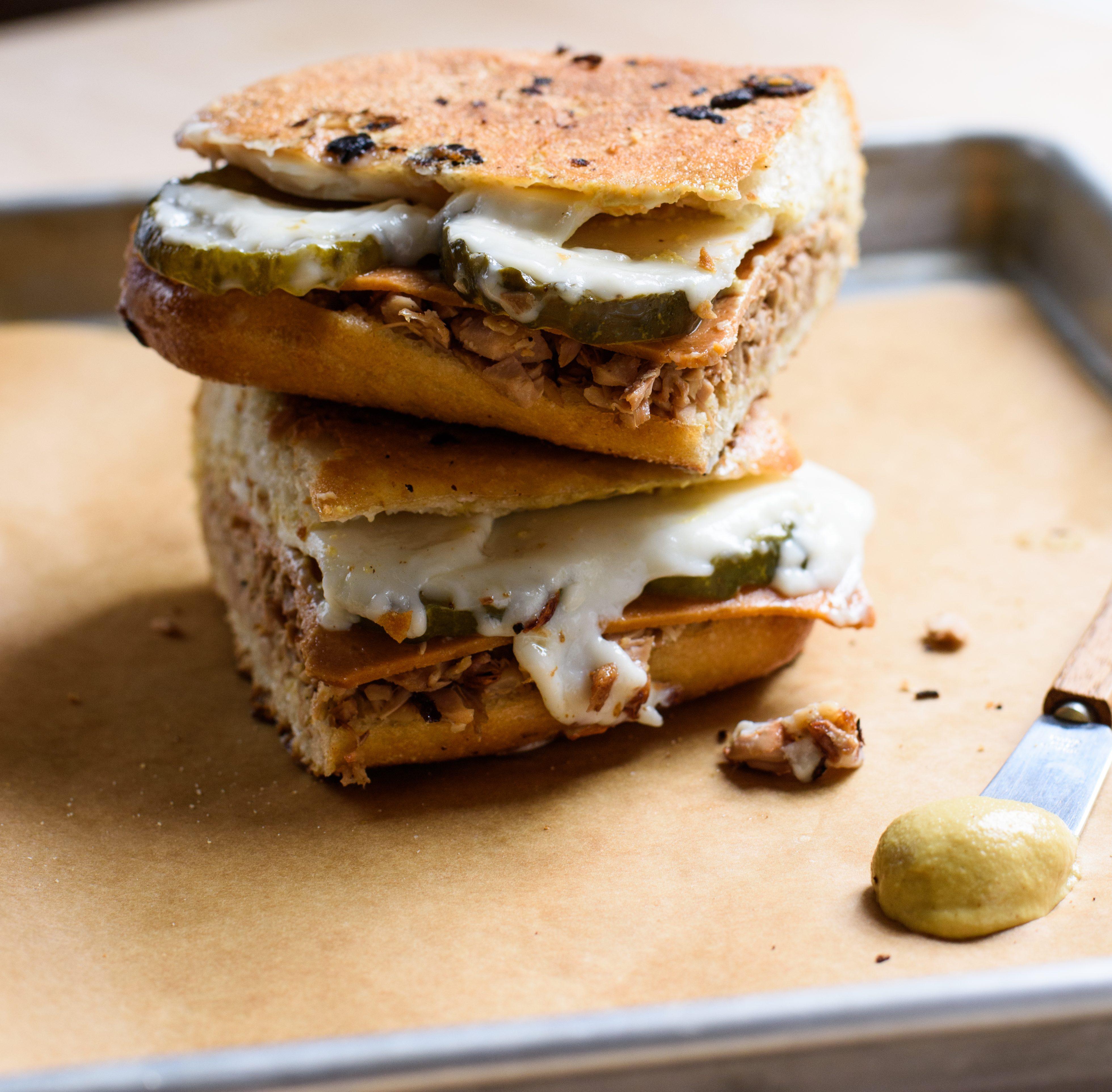 Vegan Cuban Jackfruit Sandwiches