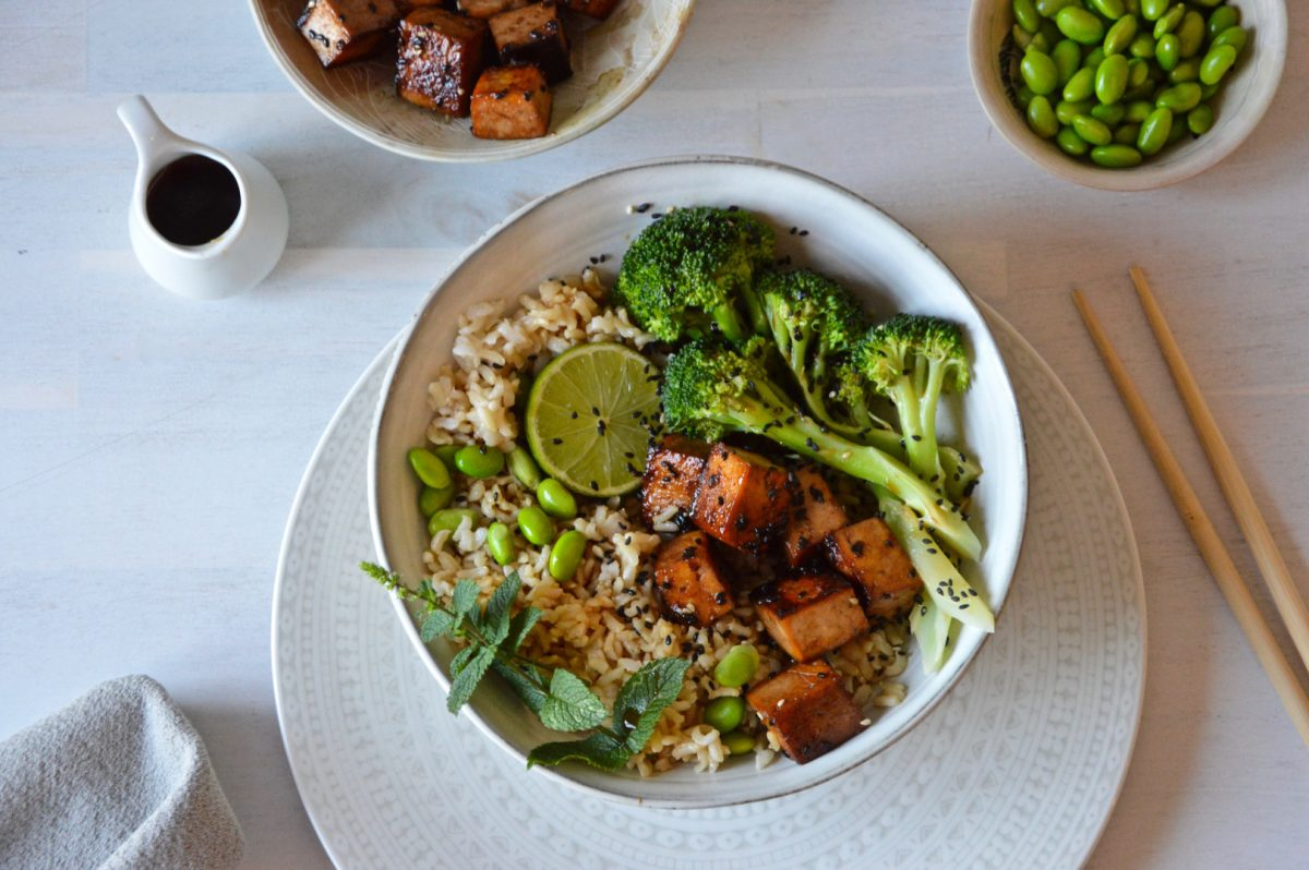 Crispy Marinated Tofu