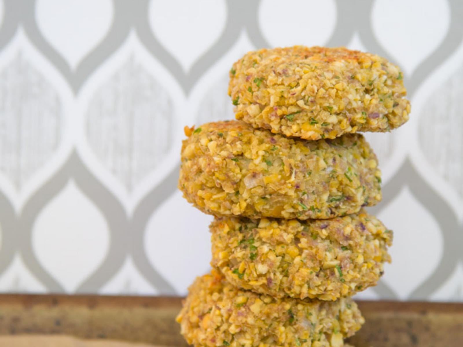 vegan oil free falafel