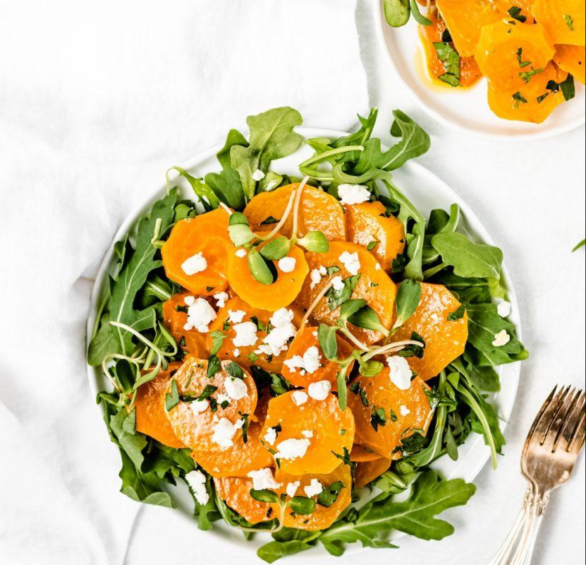 golden beet salads