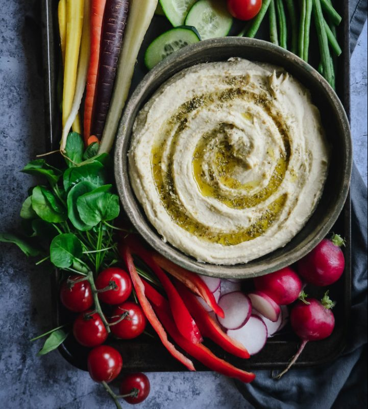 Vegan Lemon Garlic Hummus