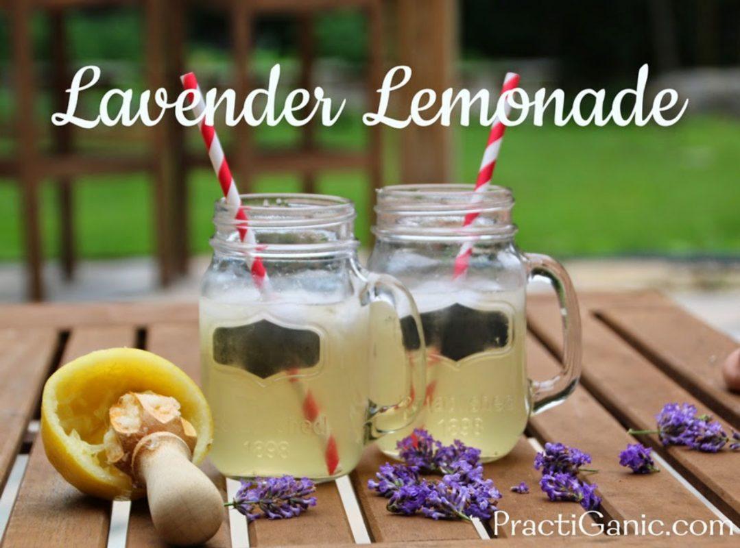 Vegan Lavender Lemonade