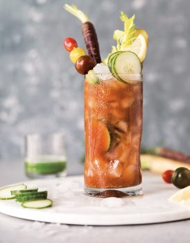 Vegan Cocktail ideas - Veggie Bloody Marys