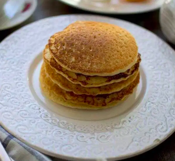 Vegan Almond Orange Pancakes