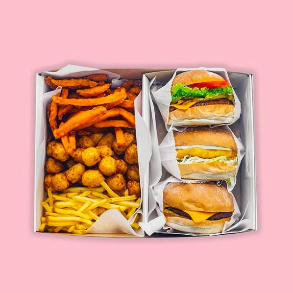 Neat Burger's vegan burgers and sides