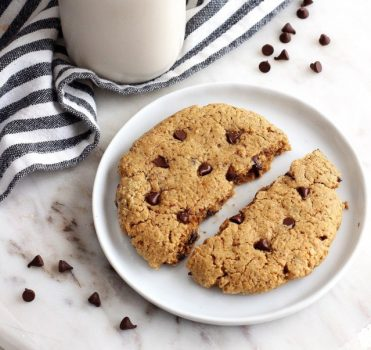 Single Serve High-Protein Gluten-Free Chocolate Chip Cookie