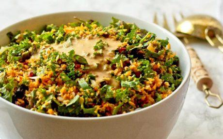 thai kale salad