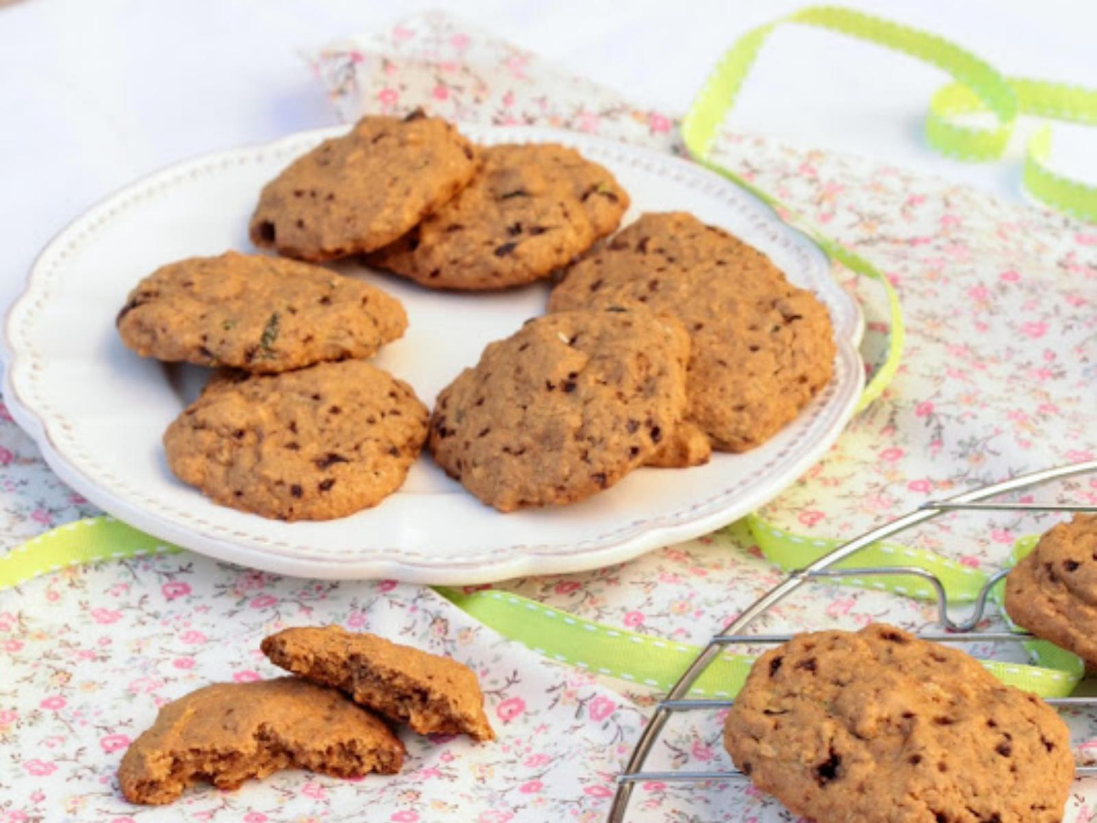 vegan cookies with zucchini