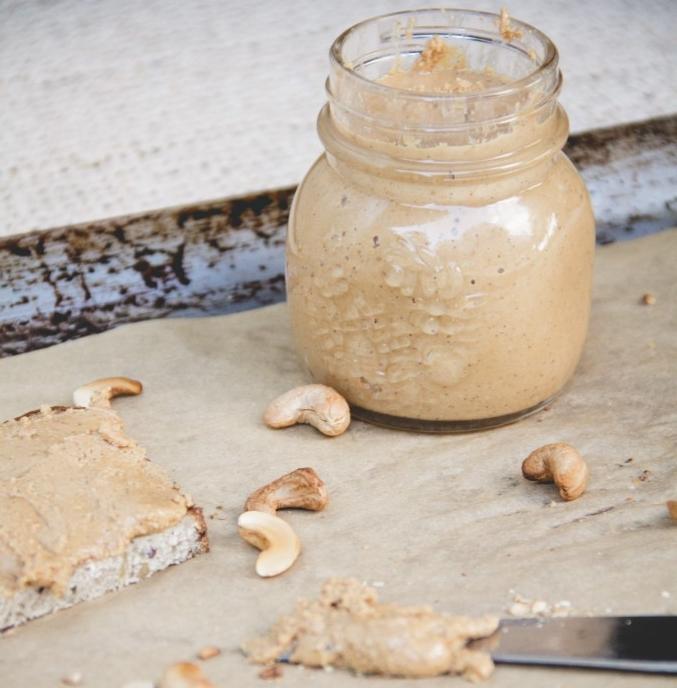 Roasted Cashew Nut Butter