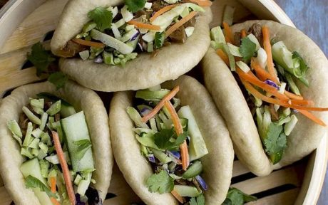 bao with vegetables