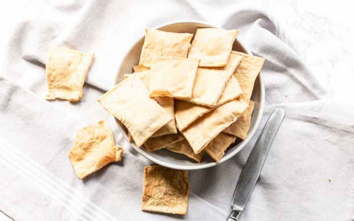 Vegan Homemade Crackers