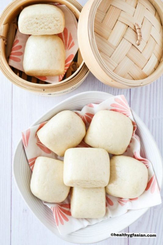 Chinese Steamed Buns (Mantou)