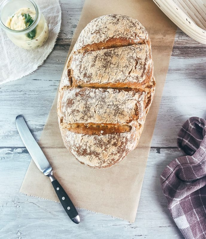 Vegan Soft German Bread