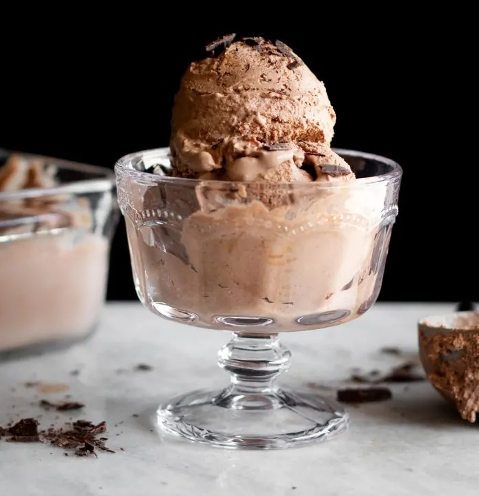 vegan Salted Chocolate Peanut Butter Ice Cream