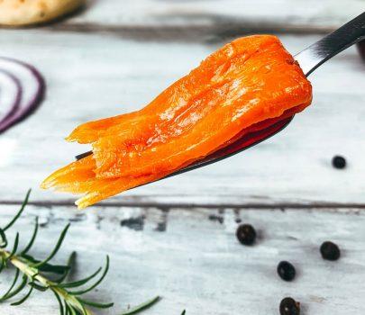 vegan carrot lox