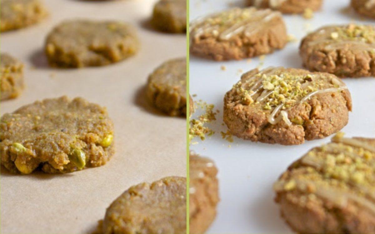 Vegan Pistachio Lovers Cookies