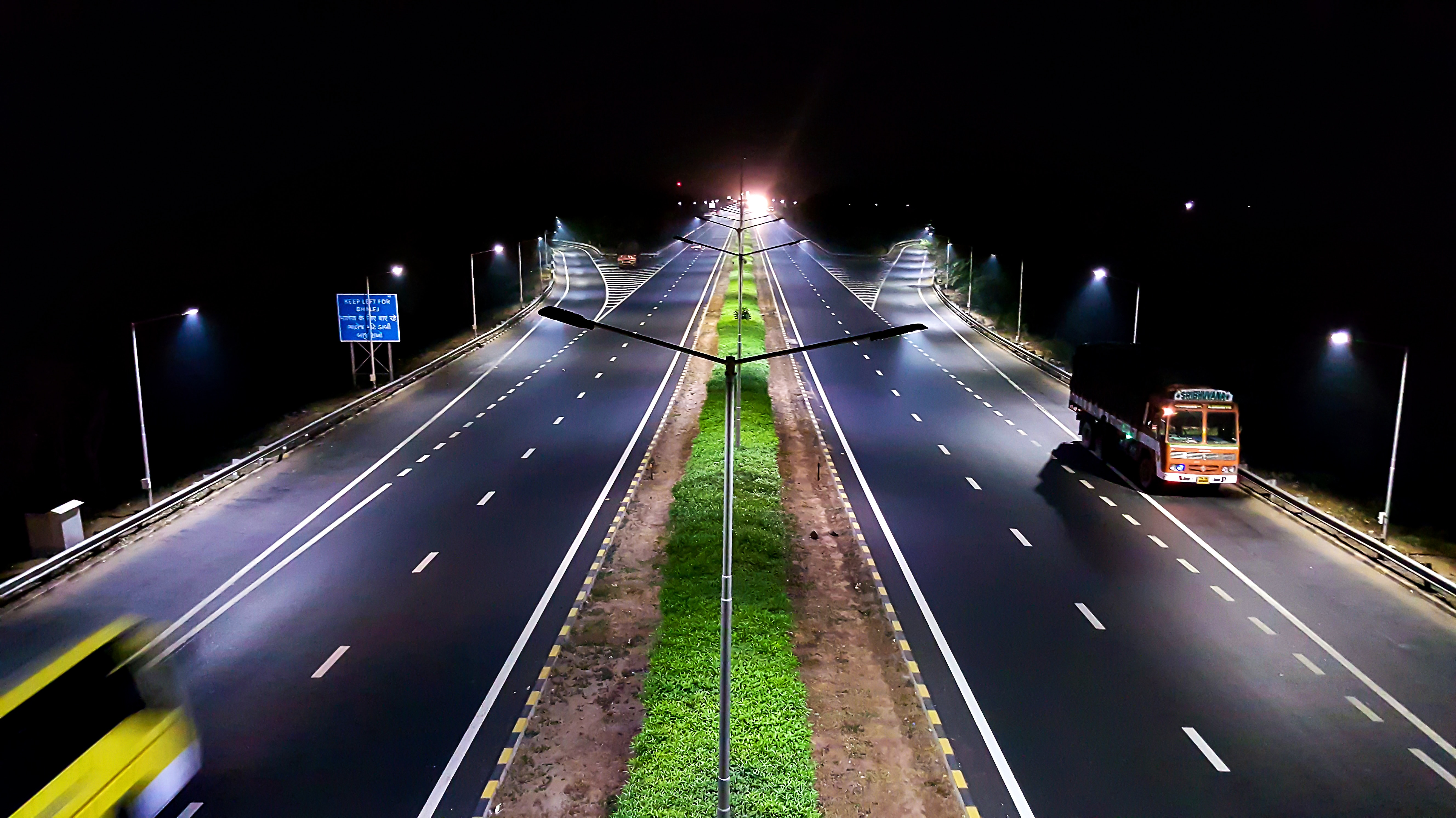 Highway at Nighttime