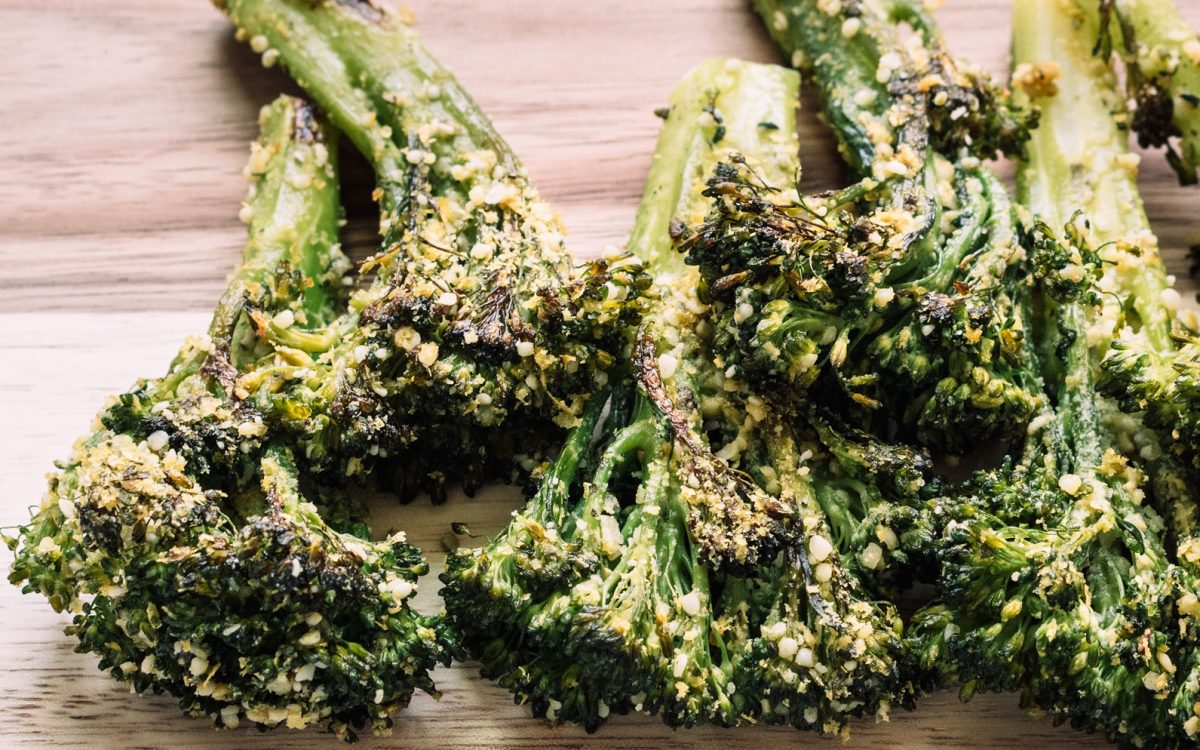 Vegan Roasted Broccolini