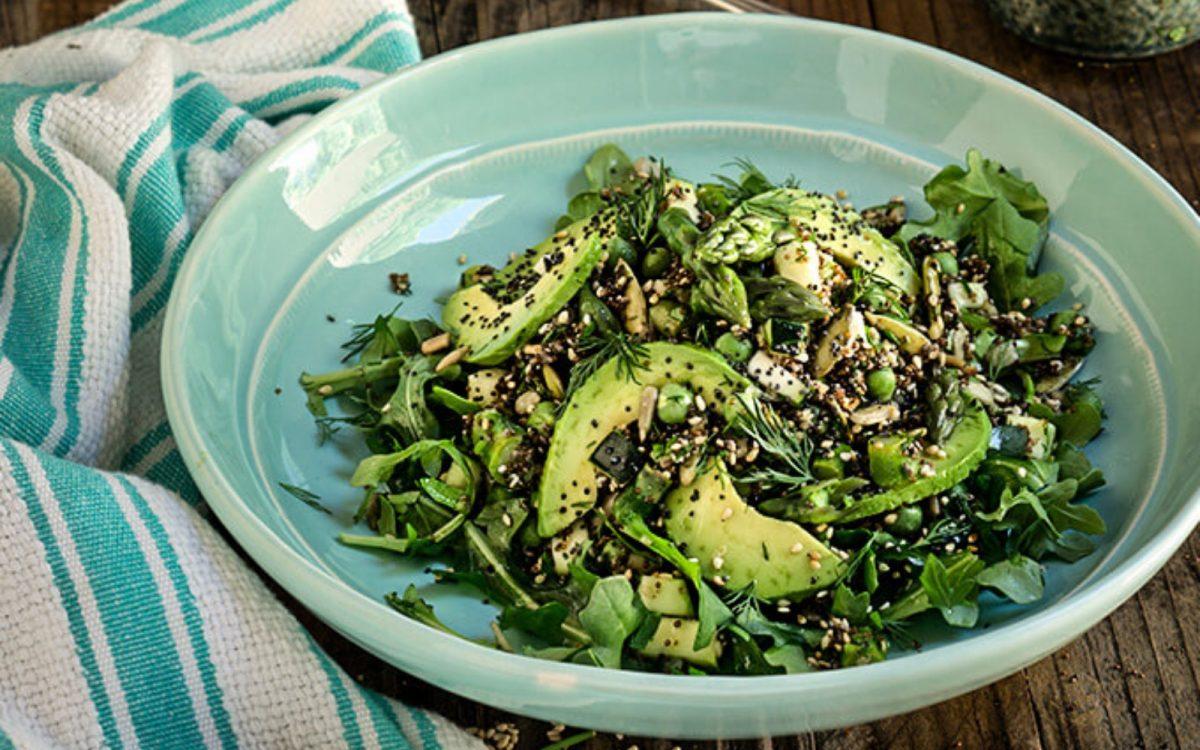 Seeds and Greens Kaniwa Salad