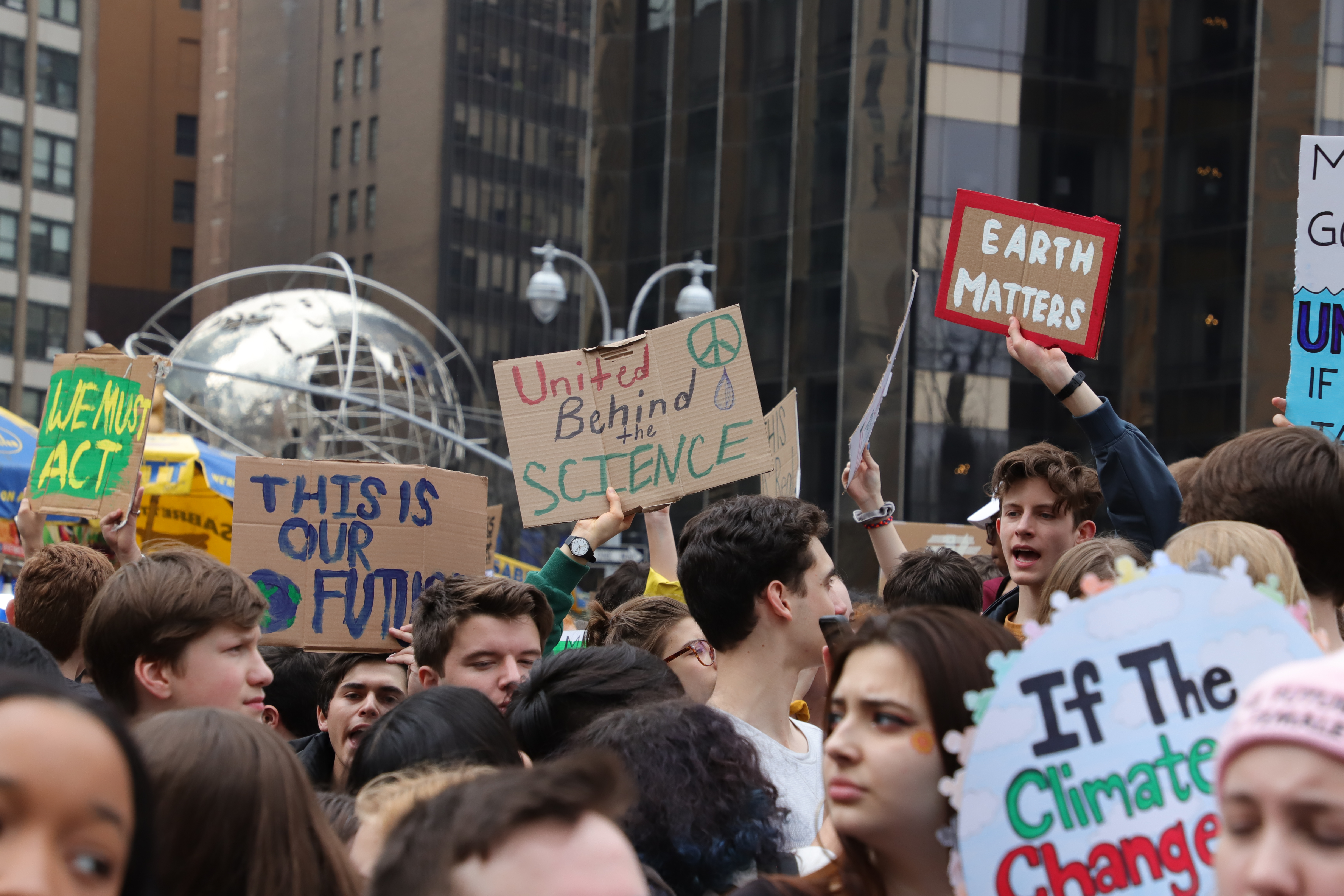 school strike for climate in New York City
