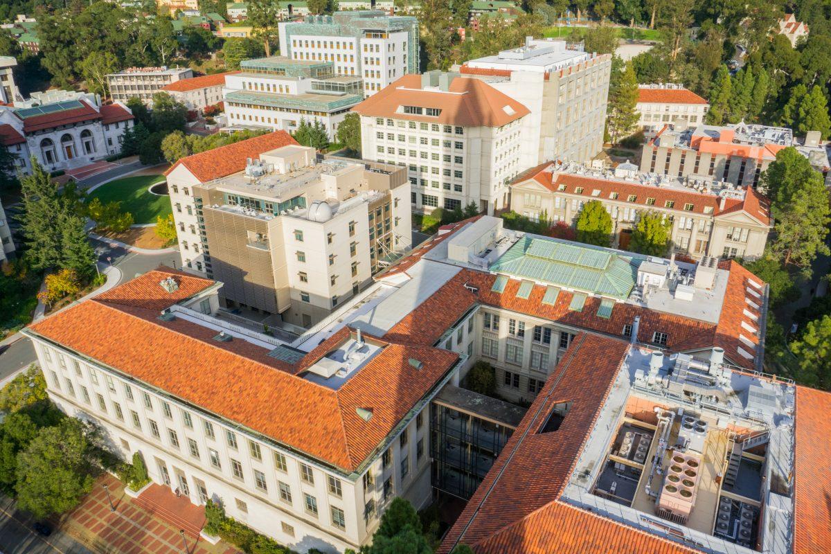 University of California, Berkeley aerial view