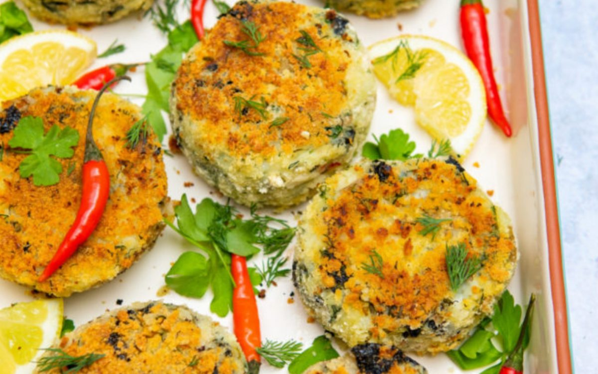 Vegan Fishcakes