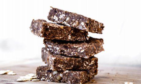 vegan No Bake Choc Squares