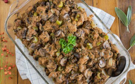 Mushroom and Sage Stuffing