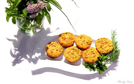 herb beer muffins