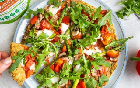 vegan gluten-free Pizza