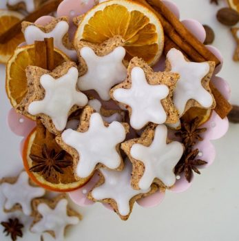 vegan cinnamon stars