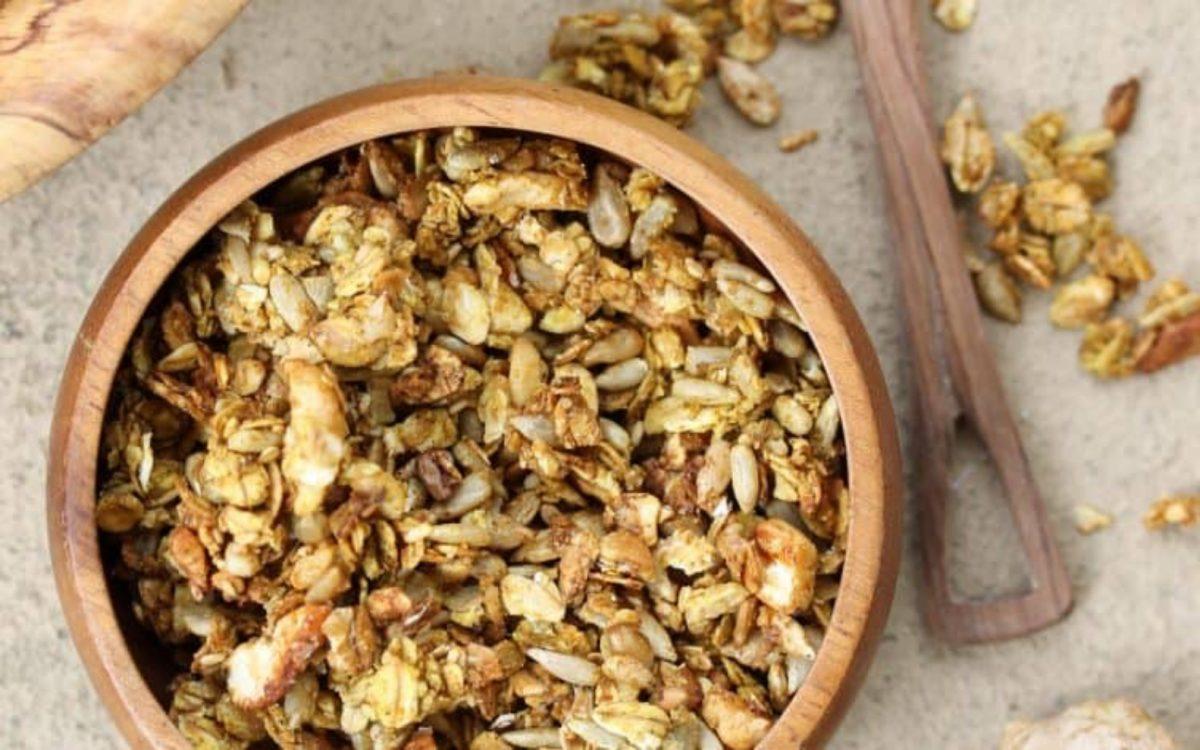 Vegan Savory Granola
