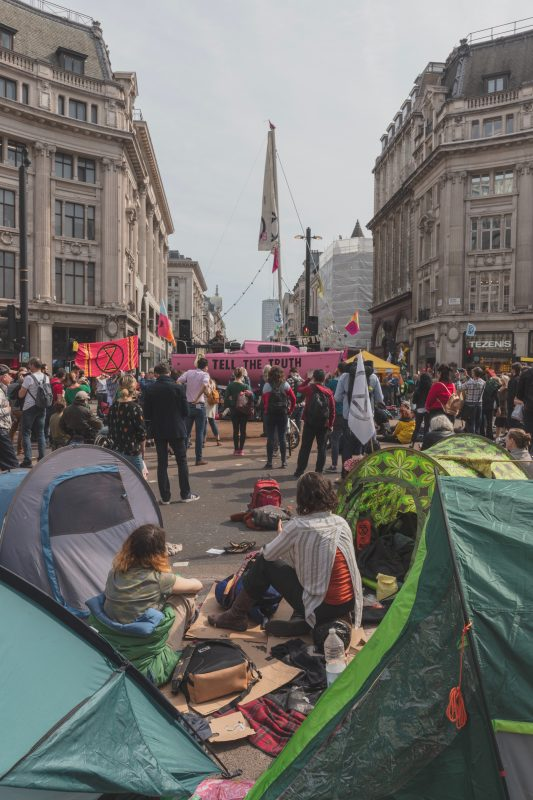 Extinction Rebellion Protest in London